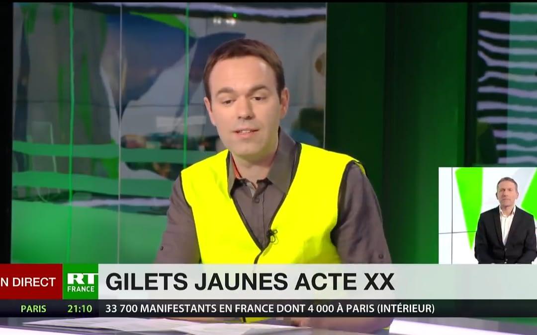 Fabrice Grimal : «C'est un mouvement pacifiste, comme on a pu le voir aujourd'hui»